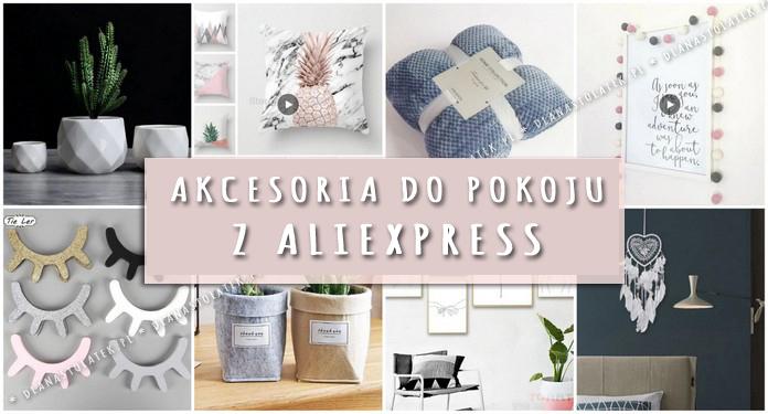 Akcesoria do pokoju z AliExpress