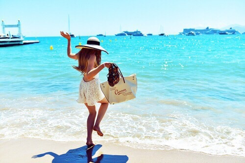torba idealna na plażę
