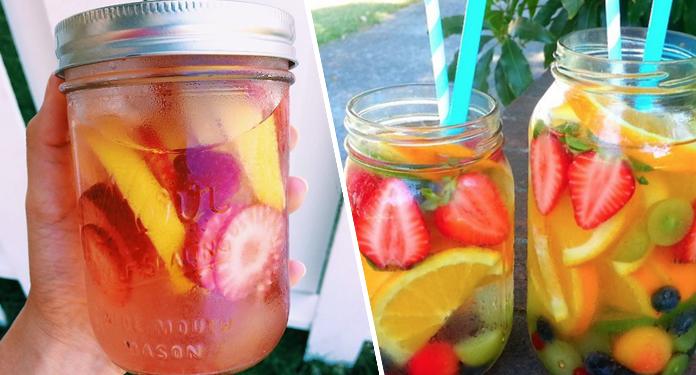 10 pomysłów na wodę smakową