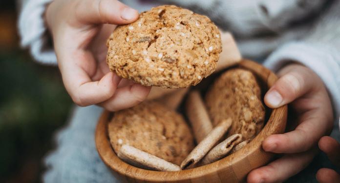 przepis na owsiane ciasteczka