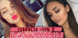 Promocja Rossmann -55%
