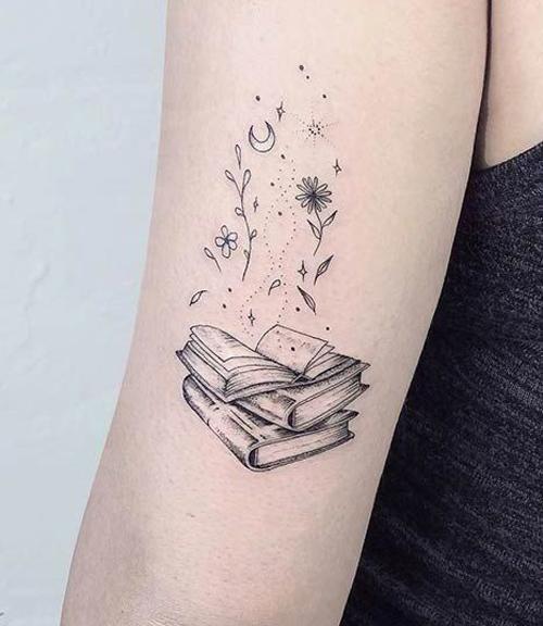 tatuaże z motywem jesiennym