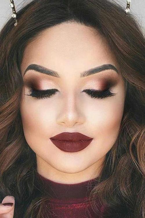 jesienne makijaże