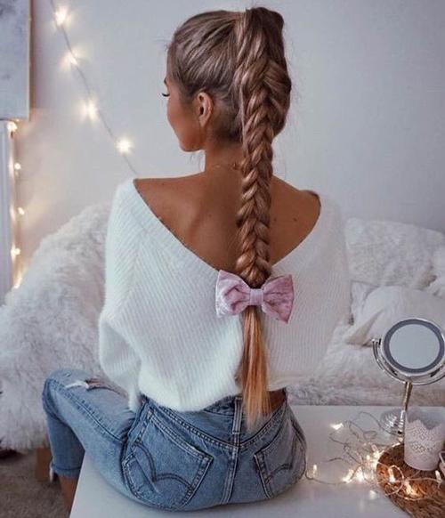 fryzury dla długich włosów