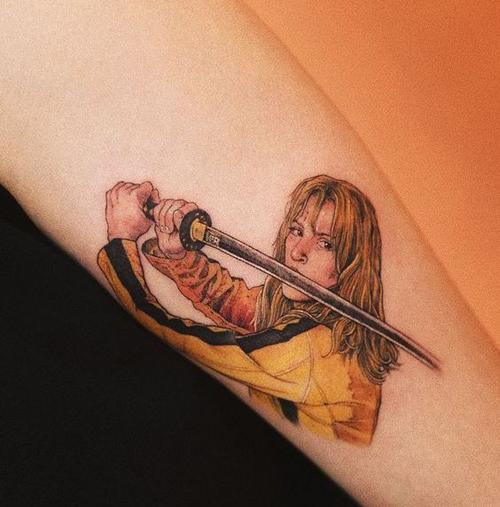 tatuaże z motywami z filmów