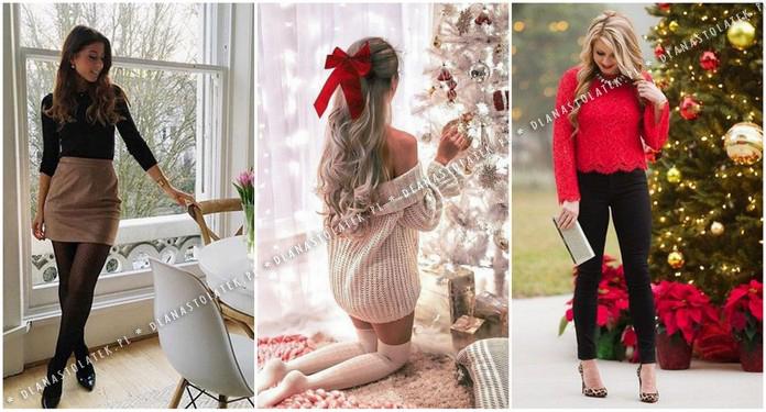 stylizacje na Święta