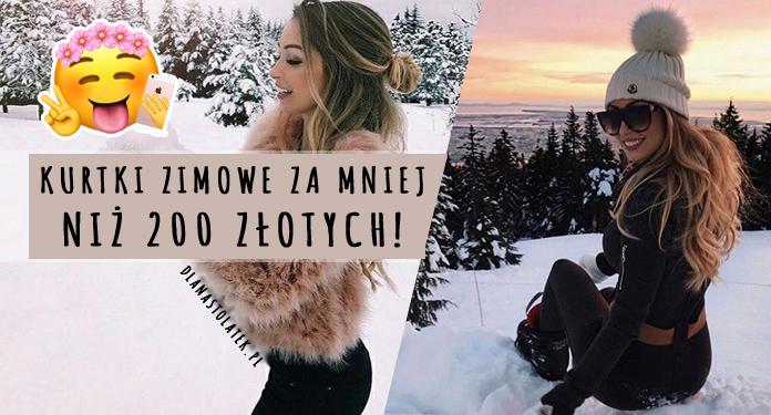 modne kurtki zimowe