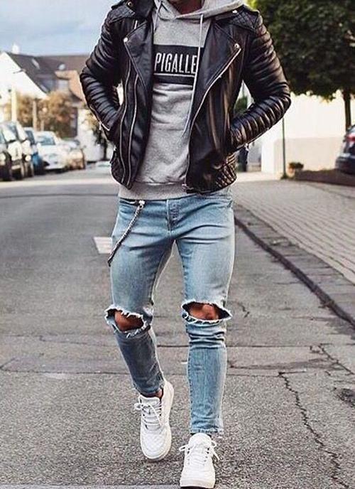 stylowy chłopak