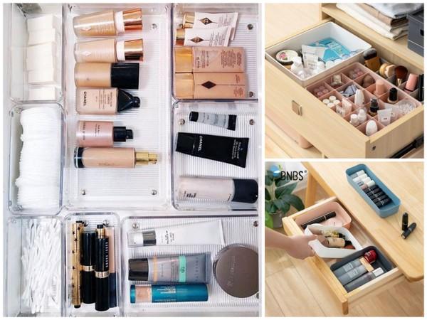 sposoby na uprzątnięcie swoich kosmetyków