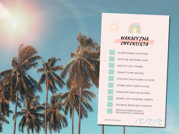 Wakacyjna checklista