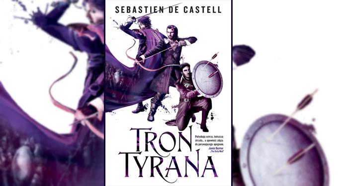 """Książka """"Tron Tyrana"""