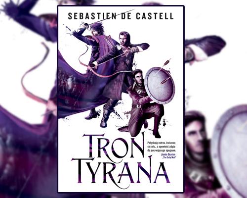 """Książka """"Tron Tyrana"""""""