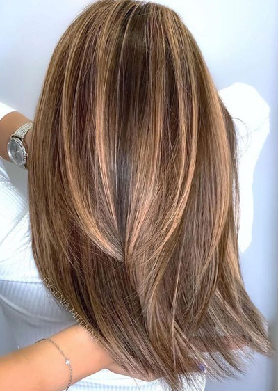 pomysły na jesienne koloryzacje włosów