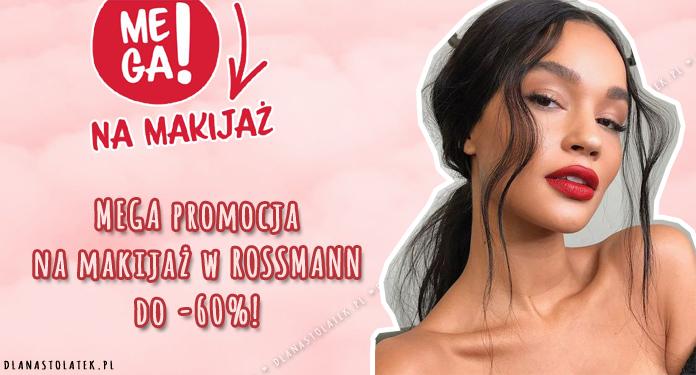 MEGA promocja na makijaż w ROSSMANN