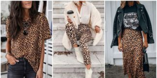 Outfity z panterką