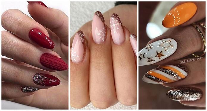 Pomysły na paznokcie zimowe