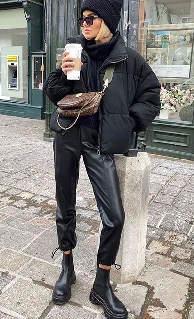 stylizacje z kurtką oversize