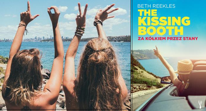 """Książka """"Za kółkiem przez Stany. The Kissing Booth"""