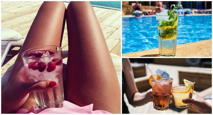 Najlepsze napoje na upalne dni!