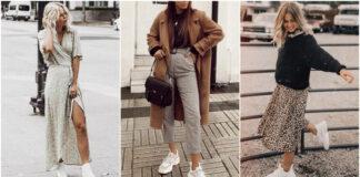 stylizacje z białymi butami!