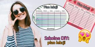 Szkolne DIY: plan lekcji