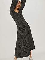 modne sukienki maxi na jesień
